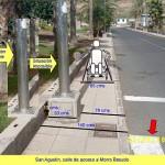 2007-09-23 MINUSVALIDO EN SILLA DE RUEDAS, ACERA Y FAROLA