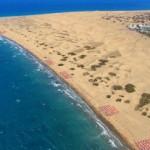 Aerial-photograph-of-Maspalomas-Dunes
