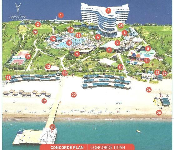 Ultra all inclusive un icono de la riviera turca for Plano de cocina hotel 5 estrellas