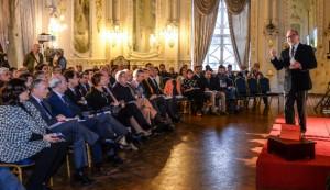 2016-02-29 Presentación por Angel Ferrera del informe CATPE en el Gabinete Literario de L.P.
