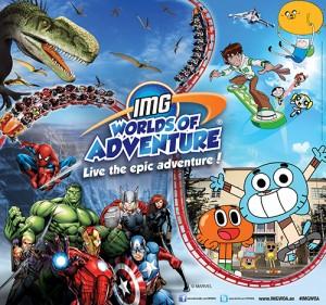 Parque IMG Worlds of Adventure, Dubai (apertura: primavera 2016)