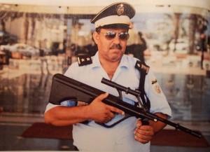 Empleado de seguridad en un hotel de Túnez (FVW 3/16)